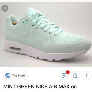 Nike Shoes | Iso Air Max 1 Ultra Moire Mint Or Grey | Poshmark